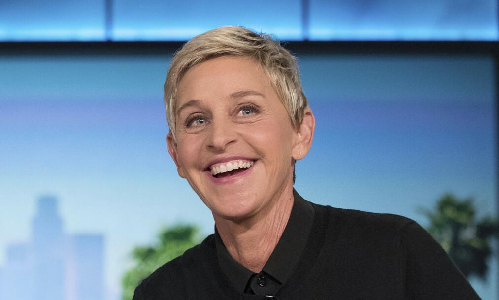 <strong>FÅR KJEFT:</strong> Ellen DeGeneres (62) har den siste tiden stått i flere stormer. Nå hagler kritikken igjen, etter at hun kom med en noe uheldig corona-spøk. Foto: NTB Scanpix