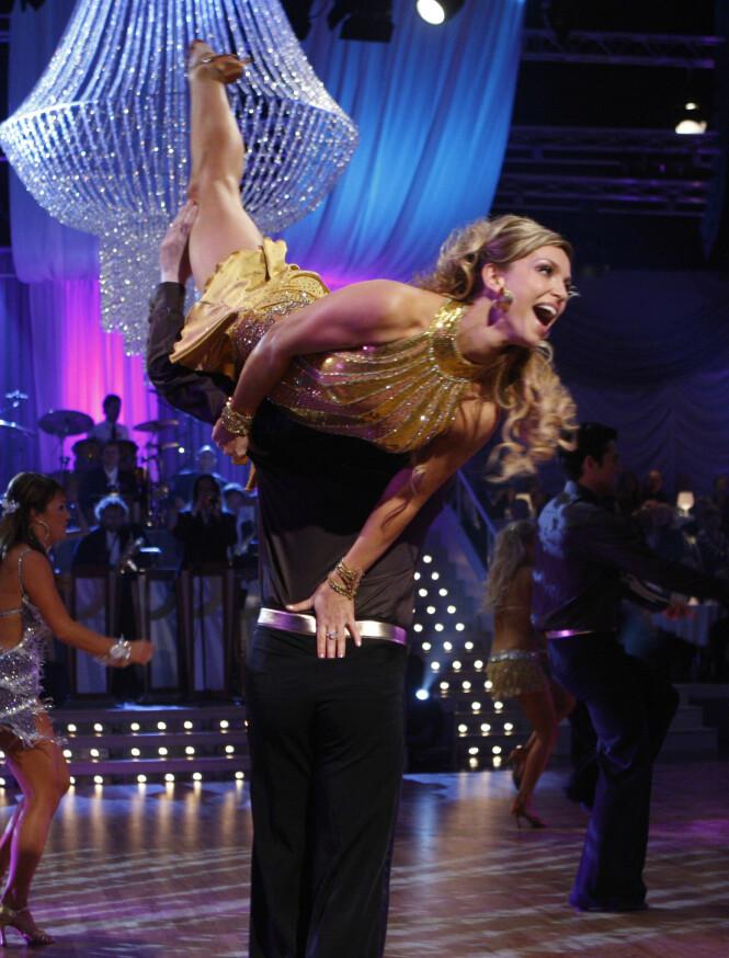 <strong>NORGESKJENT:</strong> Wedvik deltok i «Skal vi danse», i 2007. Foto: NTB scanpix