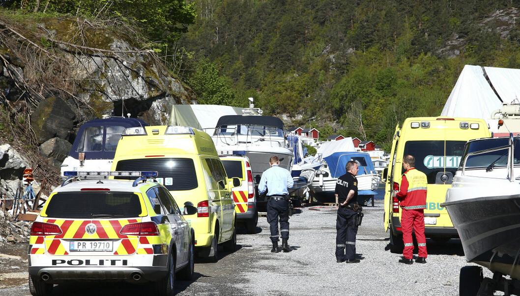 <strong>ULYKKESSTEDET:</strong> Det var her Liv Marit Wedvik døde i mai 2015. Foto: Thorvald Knudsen / NTB scanpix