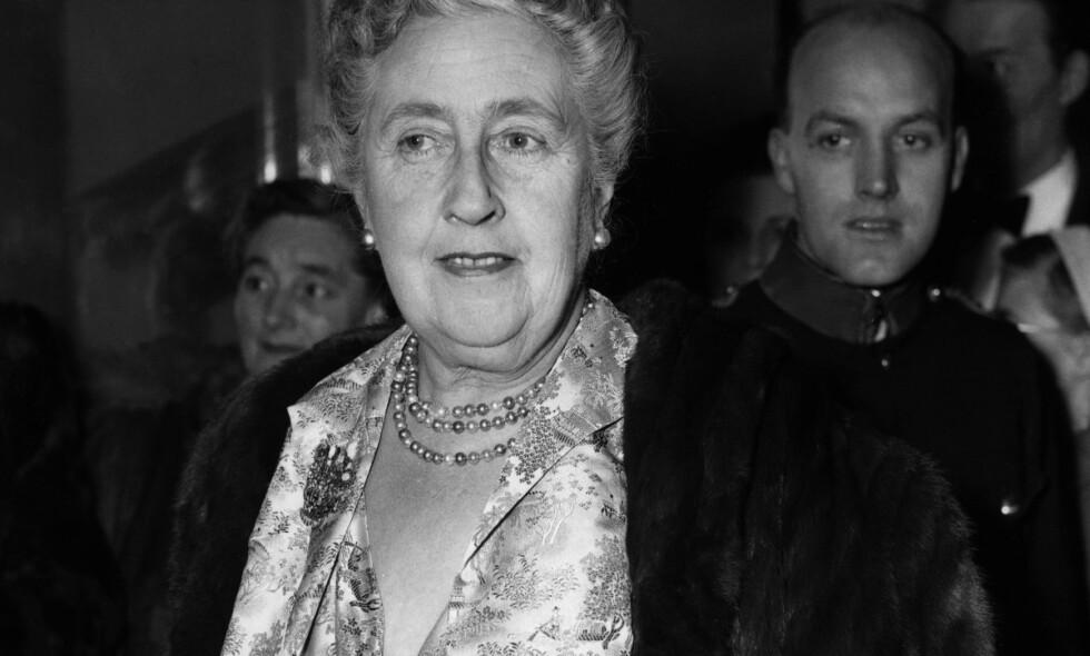 TIL GRAVEN: Agatha Christie er for mange synonymt med spennende historier og fryktinngytende mysterier, og forbindes i Norge gjerne med påskekrim. Deler av forfatterens liv er selv et mysterium, som hun tok med svaret på i graven. Foto: NTB Scanpix