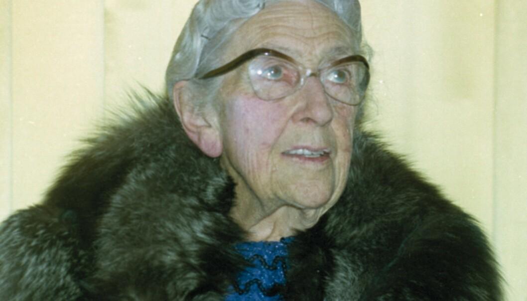 <strong>FORSVANT:</strong> På 1920-tallet forsvant den berømte krimforfatteren Agatha Christie sporløst i elleve dager. Her er hun fotografert i 1974, to år før hun døde. Foto: NTB scanpix