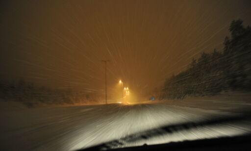 image: Dårlig vær:- La bilen stå