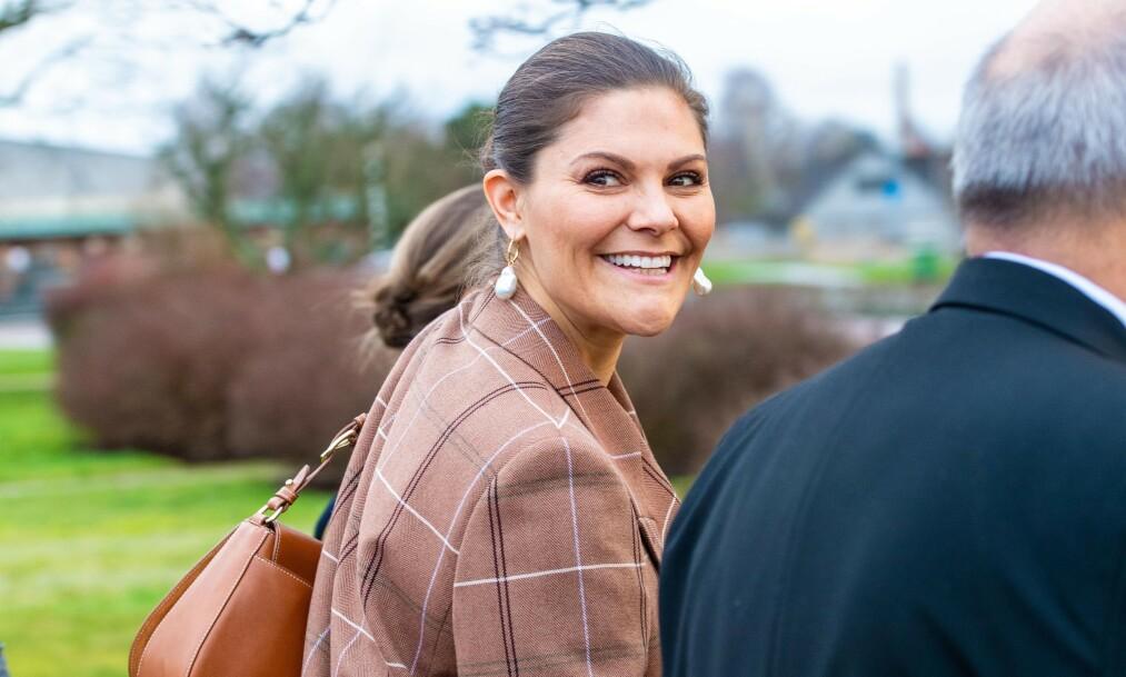 <strong>TAKKET HELSEARBEIDERNE:</strong> Den svenske kronprinsessen sendte brev til helsepersonell for å takke for innsatsen under coronakrisen. Foto: NTB Scanpix