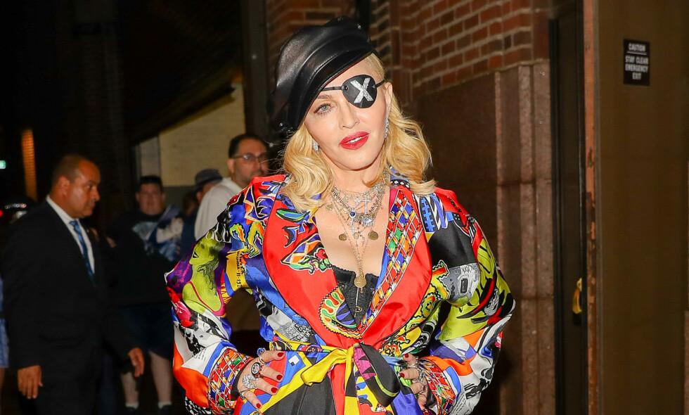 I SORG: Madonna forteller følgerne sine på Instagram om tapene hun har lidd på kort tid. Her i New York i juni. Foto: NTB scanpix