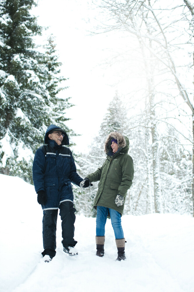 Det som skulle være en kort periode i Norge, er snart blitt til 11 år. Og Juan og Montserrat er ikke i tvil: De kommer aldri til å flytte tilbake til Mexico. FOTO: Astrid Waller