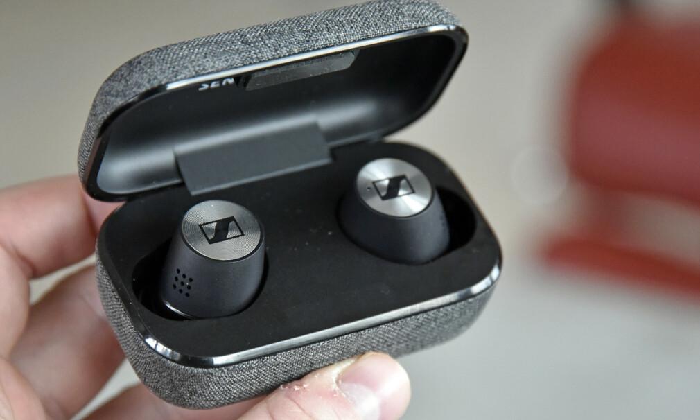 GODBITER: Sennheiser gjør det meste rett med sine Momentum True Wireless 2. Foto: Pål Joakim Pollen