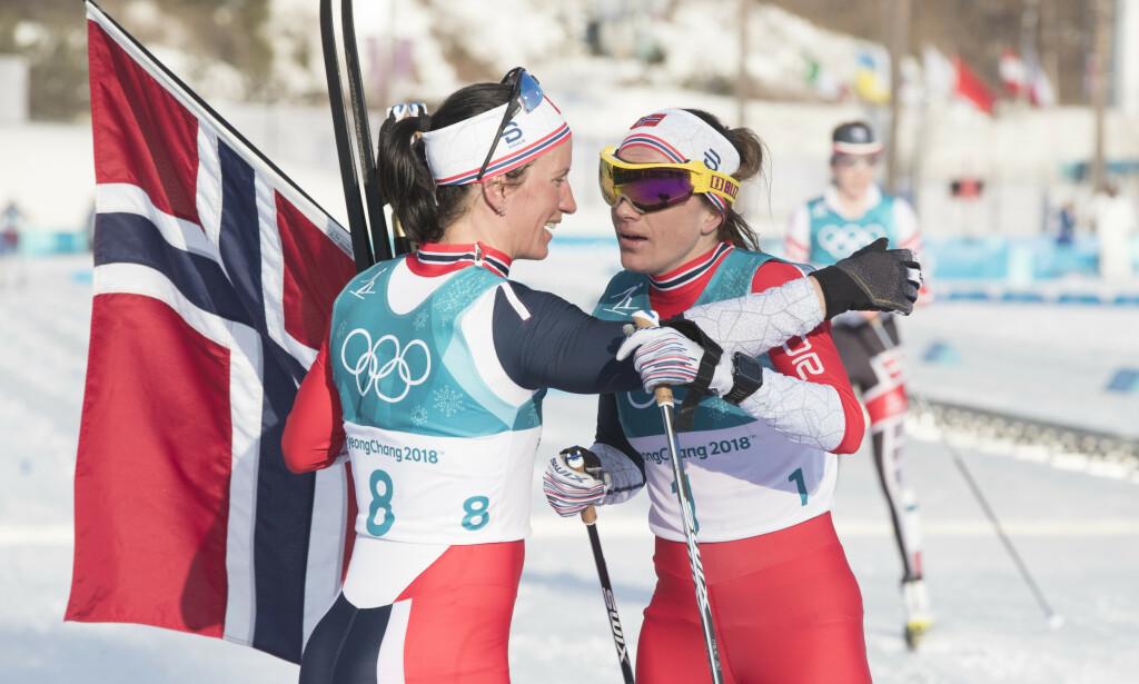 MYE NORSK: Sist vinter-OL i Pyeongchang ble en gedigen norsk suksess. Nå begynner enkelte sentrale OL-ledere å tvile på om neste vinter-OL i Kina 2022 kan gå som planlagt på grunn av coronaviruset. FOTO: Terje Pedersen / NTB scanpix