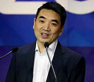 MÅTTE BEKLAGE: Etter massiv kritikk lover Zoom-sjef Eric S. Yuan at selskapet tar sikkerheten på alvor. Foto: Kena Betancur/AFP/NTB Scanpix