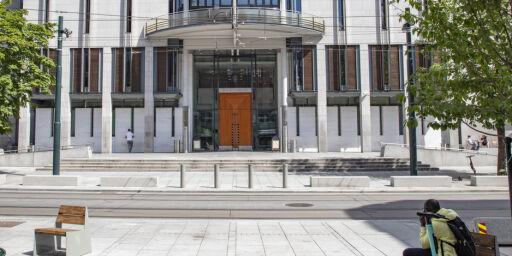 image: Mann samlet spytt - anker dom