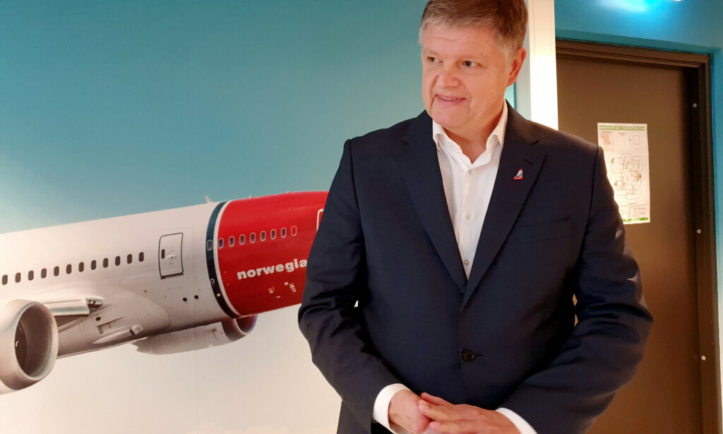 JOBBER PÅ SPRENG: Norwegians konsernsjef Jacob Schram jobber hardt for å finne en løsning med sine kreditorer. Foto: NTB Scanpix