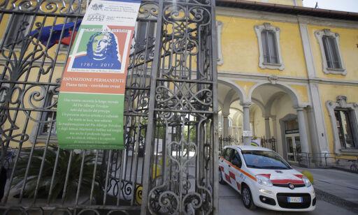 image: Italiensk politi med razzia på pleiehjem i Milano