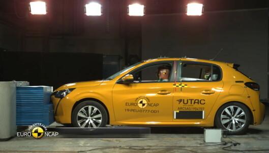 Peugeot 208 i kollisjonstest
