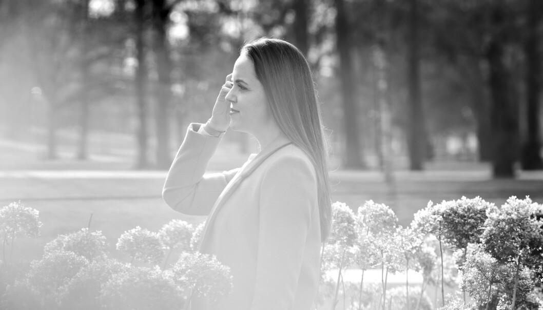 VIKTIG STEMME: - Vi vil at alle barn skal ha en stemme, sier Adalheidur, som er opptatt av at en diagnose gir oss en «guide» til å forstå FOTO: Astrid Waller