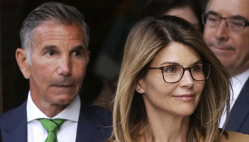 <strong>MÅ SONE:</strong> Mossimo Giannulli og kona Lori Loughlin må i fengsel. Foto: NTB scanpix