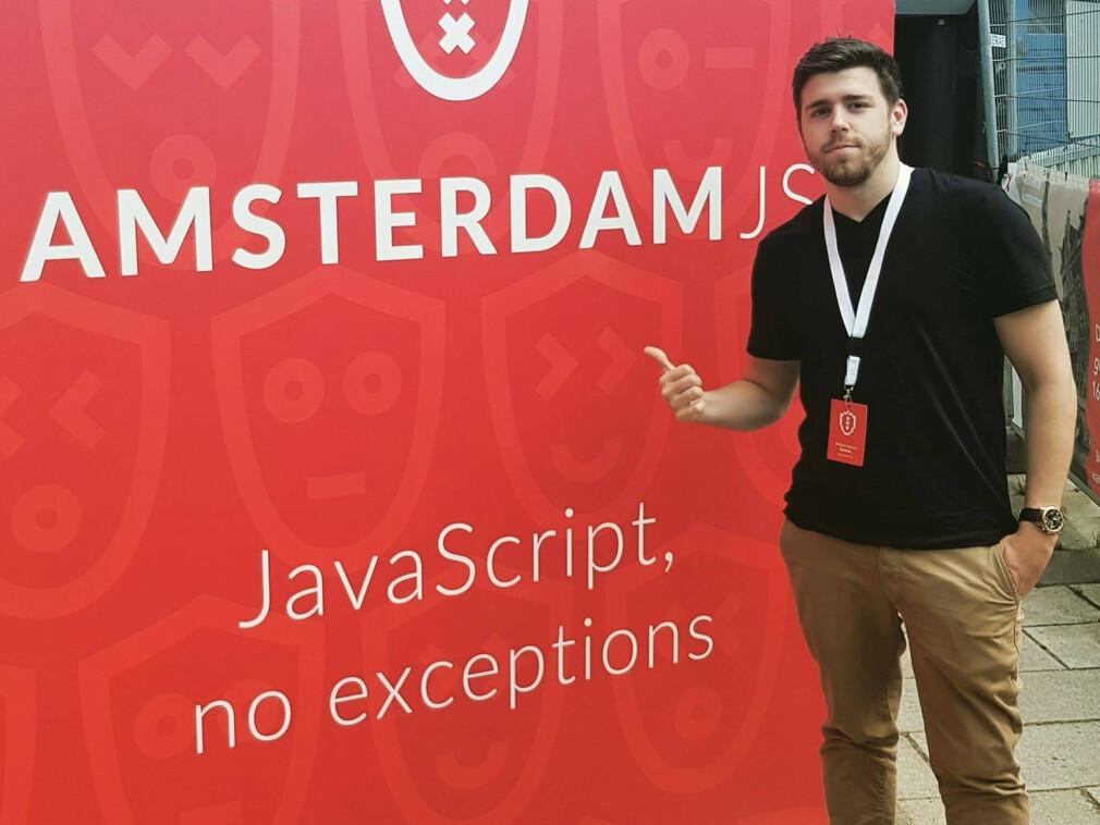 Roberto Garcia Bjertnes starter som utvikler i Kodeks. 📸: Privat