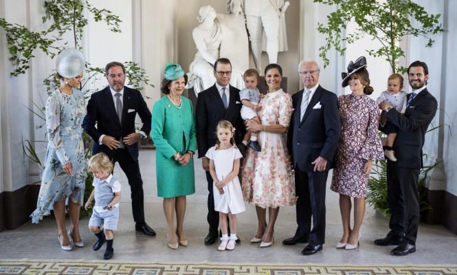 <strong>ENDRINGER:</strong> Det svenske kongehuset skrev i en pressemelding 7.oktober at barna til prinsesse Madeleine og prins Carl Philip ikke lenger vil tilhøre kongehuset. Foto: NTB Scanpix