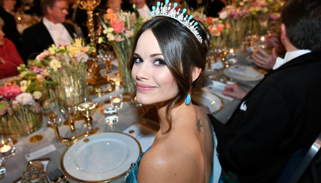 <strong>BLIR SYKEHJEMSARBEIDER:</strong> Svenske prinsesse Sofia skal bidra som støttepersonell ved sykehjem i Stockholm. Foto: AFP/ NTB Scanpix