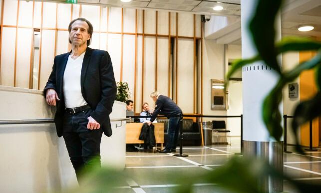 VIL HA KONSEKVENSER: Politiet må gjennomføre flere kniv-undersøkelser, mener stortingsrepresentant Jan Bøhler (Ap). Foto: Øistein Norum Monsen / Dagbladet.