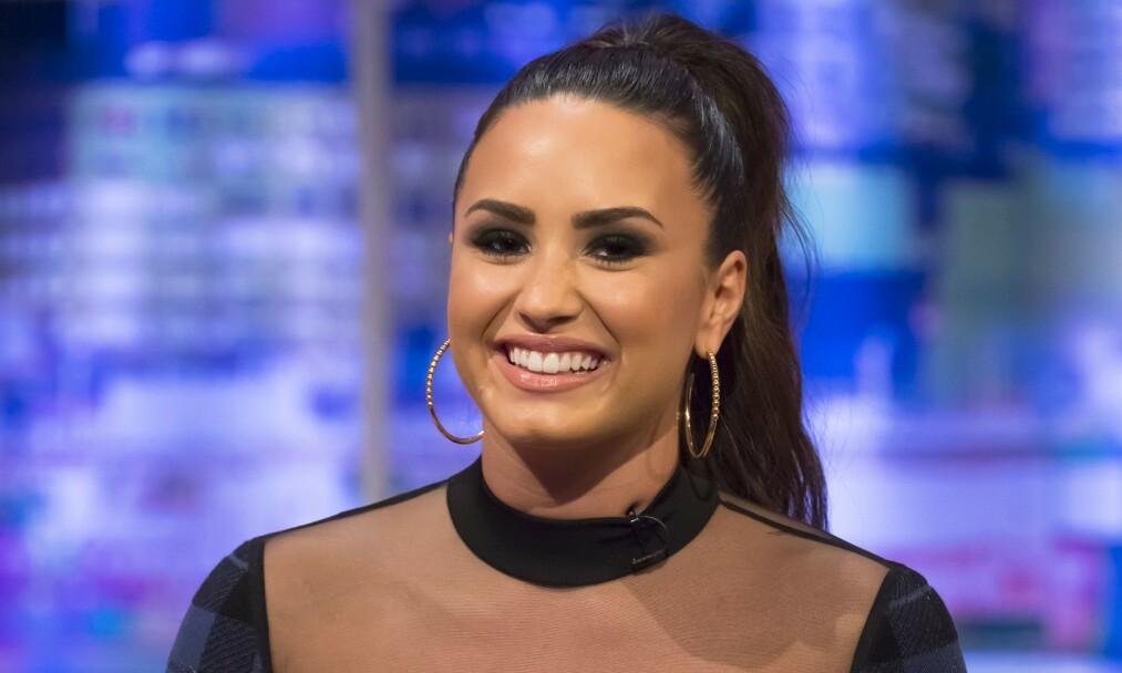 <strong>ÅPEN:</strong> Demi Lovato mener at kjønn ikke har noen betydning, kjærlighet er kjærlighet. Foto: NTB Scanpix