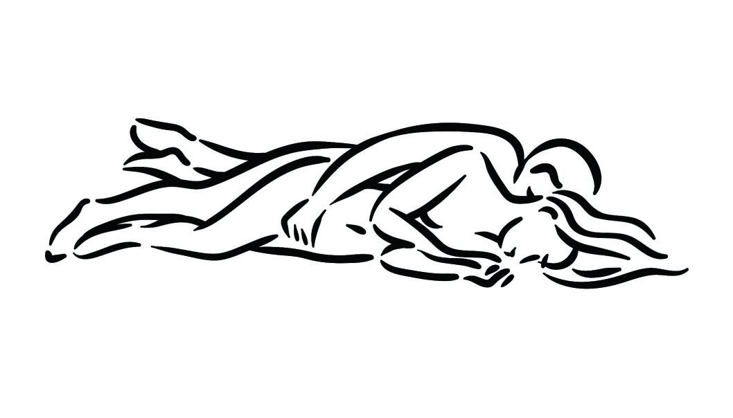 LIGG I SKJE: Denne stillingen er både intim og gir god stimulering. Foto: Scanpix.