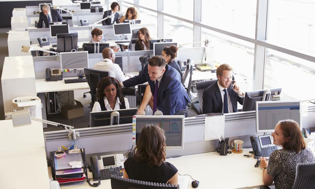 image: - Døden for åpent kontorlandskap