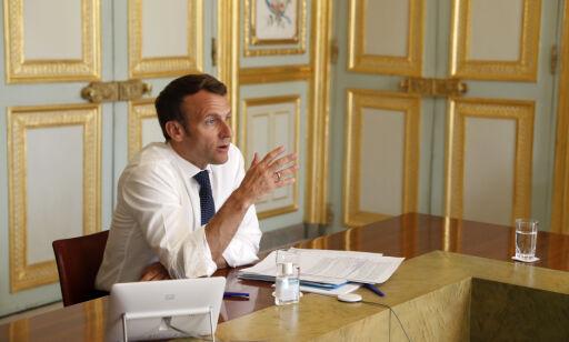 image: Macron om Kinas corona-håndtering: - Ting vi ikke vet