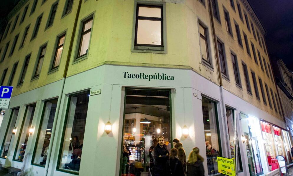 MELDER OPPBUD: Taco República har vært en favorittrestaurant for mange. Nå er virksomheten konkurs. Foto: Thomas Rasmus Skaug / Dagbladet