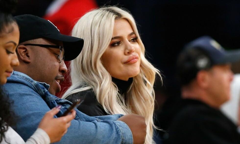 FLERE BARN: Khloé Kardashian utelukker ikke flere barn med ekskjæresten Tristan Thompson. Foto: NTB scanpix