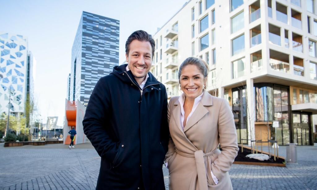 SUKSESS: Hans Houeland har operert i det øvre sjiktet av eiendomsmarkedet i en årrekke. Helene Solberg ble på sin side DNB Eiendoms toppselger på rekordtid. Foto: Lars Eivind Bones / Dagbladet