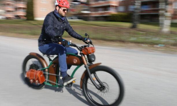 image: Nei, dette er ingen motorsykkel