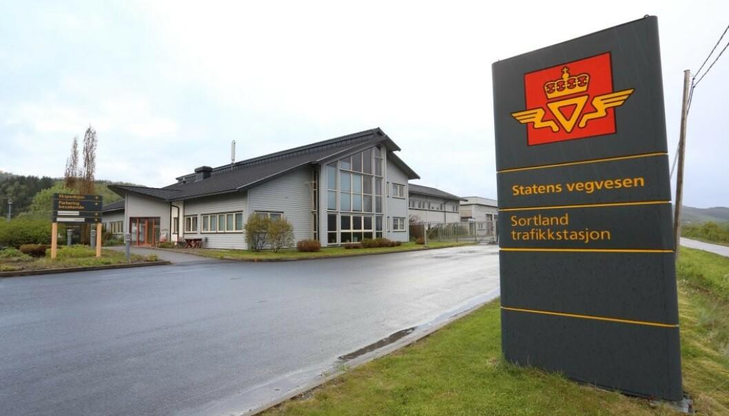 Statens vegvesen måtte stenge alle trafikkstasjoner som følge av coronaviruset. Foto: Tomas Rolland, Statens vegvesen.