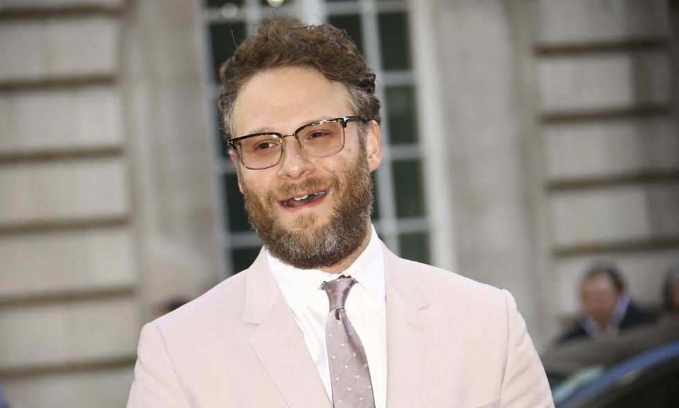KLARER SEG: Seth Rogen har tilsynelatende ingenting å utsette på sin nye tilværelse. Foto: NTB Scanpix