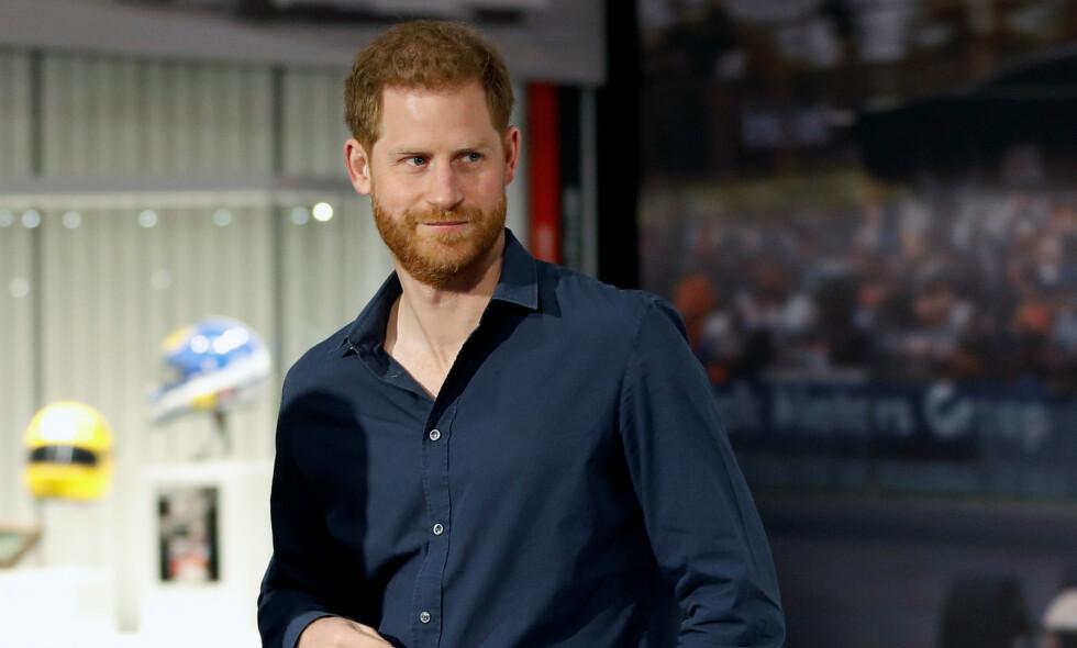 FÅR REFS: Prins Harry får høre det etter at han uttalte at situasjonen rundt coronaviruset ikke er så ille som mediene vil ha det til. Foto: NTB Scanpix