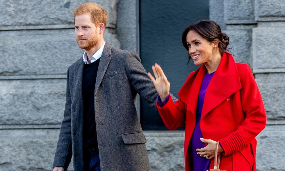 FÅR KRITIKK: Prins Harry får høre det etter at han uttalte at situasjonen rundt coronaviruset ikke er så ille som mediene vil ha det til. Her avbildet med hertuginne Meghan tidligere denne måneden. Foto: NTB Scanpix