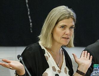 KRITISK: Guro Slettemark, generalsekretær i Transparancy International Norge.  Foto: Cornelius Poppe / NTB scanpix