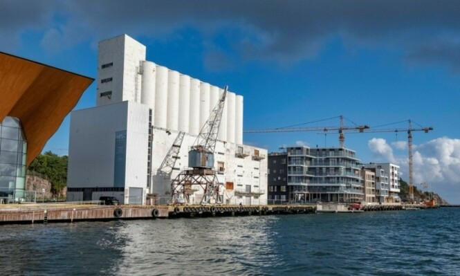KUNSTSILO: Kristiansand ble splittet over ideen om å bruke skattepenger på å gjøre denne siloen til et museum. Foto: Tor Erik Schrøder / NTB scanpix