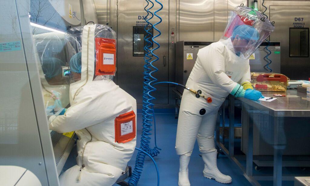 image: Lekket coronaviruset ut fra et kinesisk laboratorium?