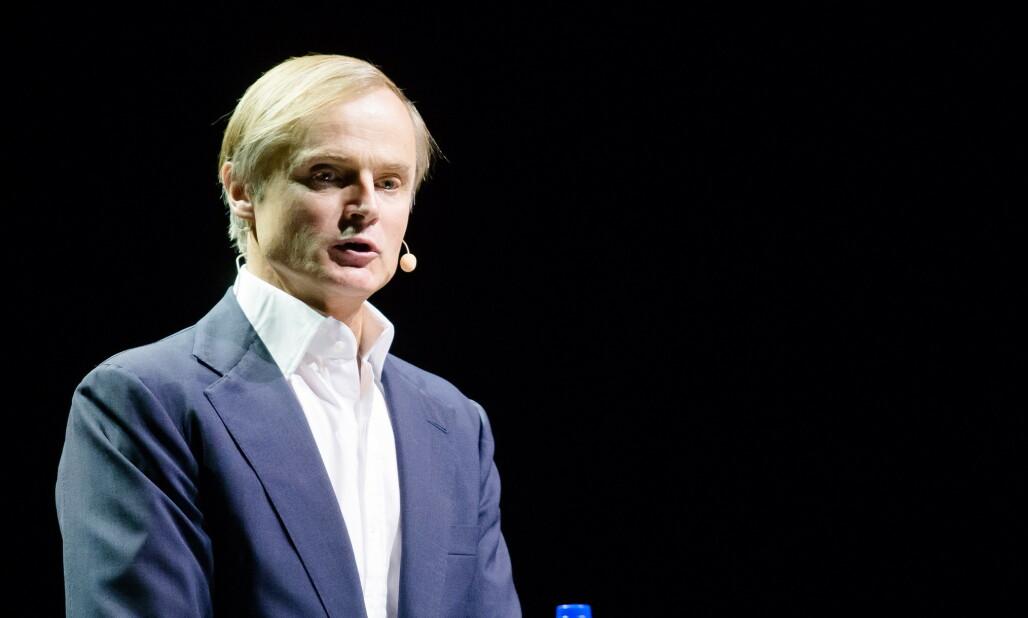 <strong>STORM:</strong> Investor Øystein Stray Spetalen mener Norge ikke kunne fått en bedre sjef for oljefondet enn Nicolai Tangen. Foto: Audun Braastad / NTB scanpix