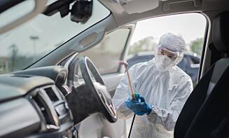En virolog rengjør bilen. Foto: Shutterstock / NTB scanpix