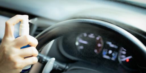 Unngå smittebombe: Slik sørger du for å holde bilen ren