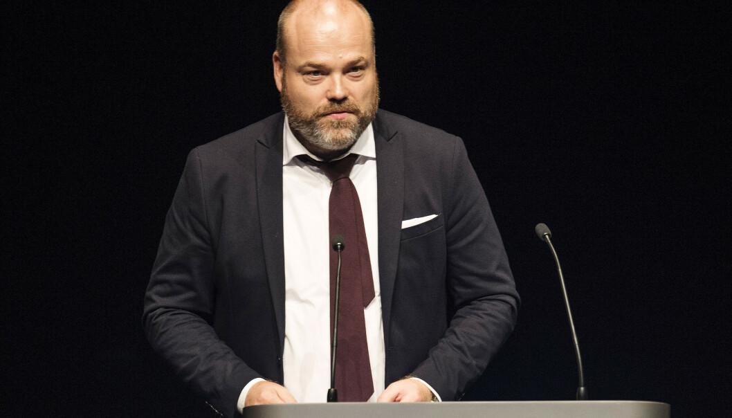 <strong>KRITIKK:</strong> Anders Holch Povlsen havnet i hardt vær da bedriften hans sa opp 750 ansatte som følge av coronakrisen. Foto: NTB Scanpix