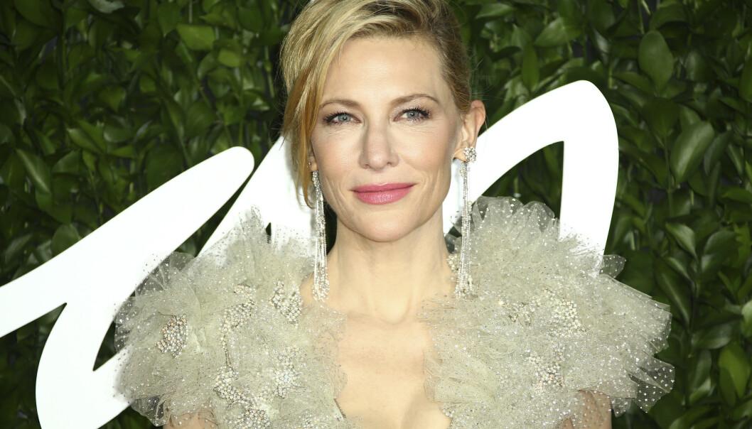 Cate Blanchett er kjent for å eie alle sine roller, også rollen som konservativ husmor i HBO-serien Mrs America. FOTO: NTB Scanpix