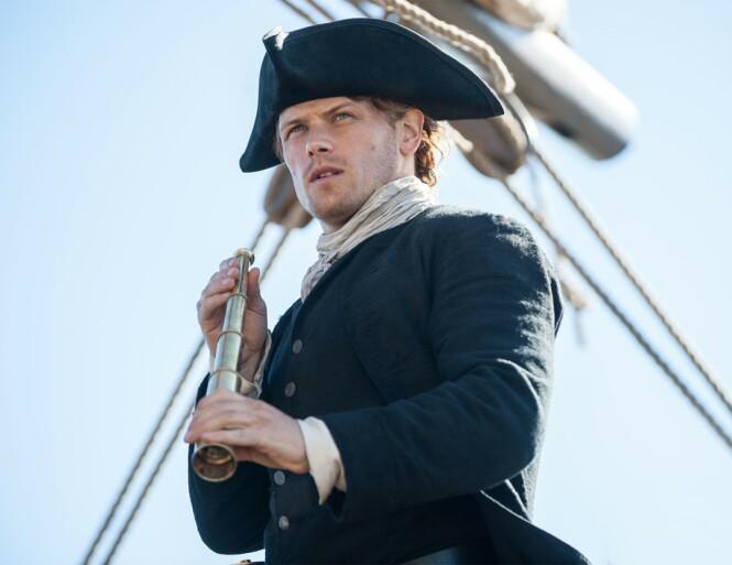 MØRK HORISONT: Sam Heughan fra «Outlander» hevder han føler seg trakassert. FOTO: NTB Scanpix