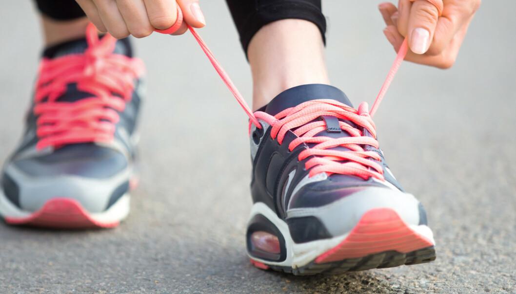 HVILKE JOGGESKO HAR BEST DEMPING? Demping kan være viktig for å forhindre løpeskader. Nå har svenske Testfakta fått testet åtte joggesko i laboratorium, for å finne objektive svar på hvilke joggesko som har best støtdemping og respons. Foto: Shutterstock/NTB scanpix