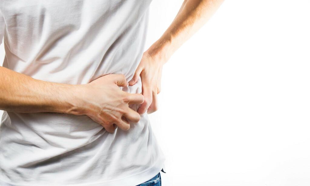 NYRESTEINSANFALL: Et nyresteinsanfall er kjent for å være noe av det mest smertefulle man kan oppleve. Foto: NTB Scanpix/Shutterstock