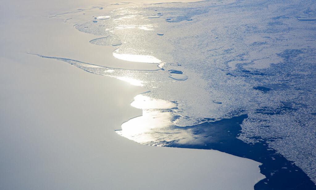 FLYTTES SØROVER: Kompromisset til regjeringen vedrørende iskanten vekker reaksjoner. Foto: Tore Meek / NTB scanpix