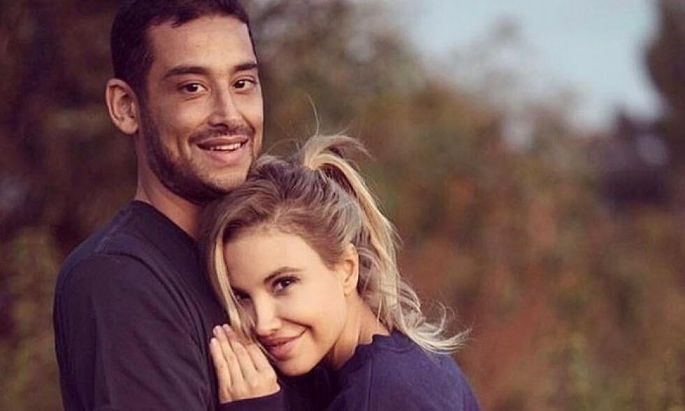 ENKE: Elena Belle mistet ektemannen brått i slutten av februar. Nå er dødsårsaken klar. Foto: Skjermdump fra Instagram / Elena Belle