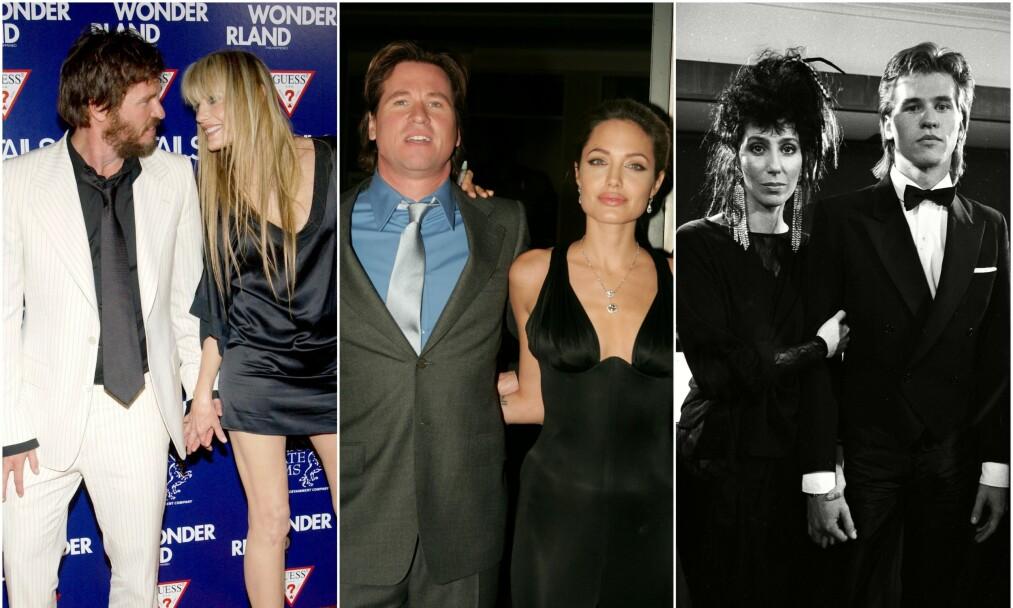 <strong>EKSER I FLENG:</strong> Val Kilmer var litt av en kvinnebedårer, og har datet flere superstjerner. Nå avslører han hvem som har vært viktigst for ham. Foto: NTB scanpix