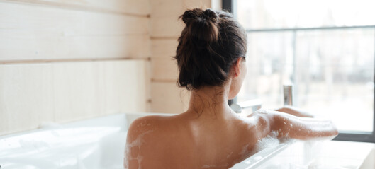Å ta et bad kan være bra for hjertehelsen din
