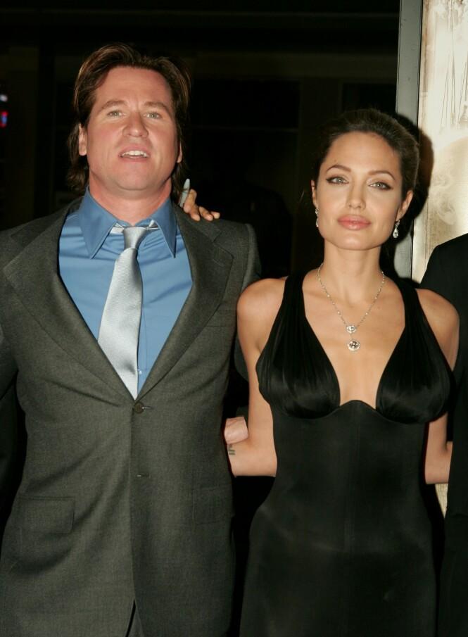 <strong>SKRYTER:</strong> I boken skryter Kilmer av Jolie, som han mener var en fin kvinne. Like etter at de gikk fra hverandre, møtte hun Brad Pitt. Foto: NTB scanpix